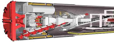پاورپوینت دستگاه های حفر تونل TBM در 19 اسلاید به طور کامل و جامع